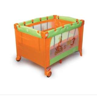 My Dear Baby Travel Playpen 26003 (Orange)