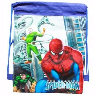 ♥Brand New Spiderman Drawstring Party Bags★