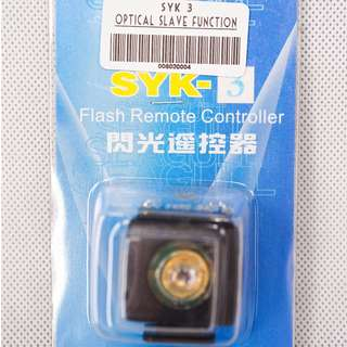 SYK 3 Optical Slave Function Flash Remote Controller