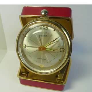 Vintage Seiko Travelling Alarm in good running condition