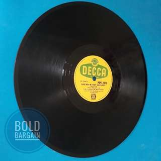 Authentic Vintage Vinyl Record 78 rpm Suzi Miller Majorca Johnston Brother for Turntable Gramaphone Record Player