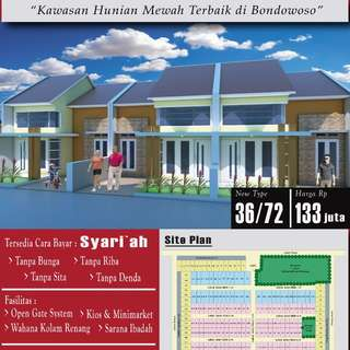 Jual Rumah murah bondowoso