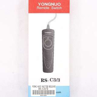 YongNuo Remote Switch Shutter Release RS-C3/3