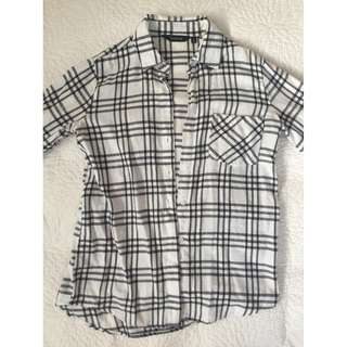 GLASSONS - PRINT BUTTON UP SHIRT