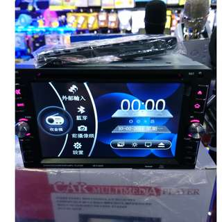 恭賀新禧 已啟市 歡迎查詢 (包安裝) 大面版 車機 DVD Bluetooth FM AUX 藍芽