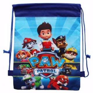 ♥Brand New Paw Patrol Drawstring Party Bags★