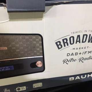 CLASSIC RADIO broadway wd bluetooth