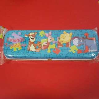 Children Metal Pencil Case (Winnie The Pooh)