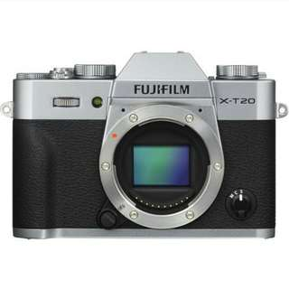 Fujifilm X-T20 Body Only Kredit Kamera Mudah