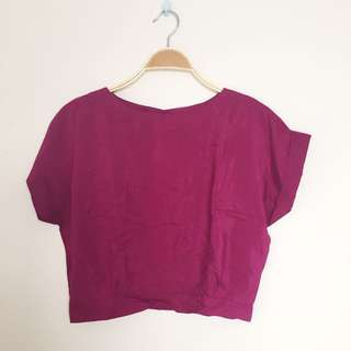 Crop Top (purple)