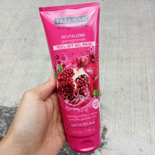Freeman Pomegranate Peel Of Gel Mask