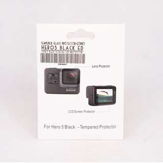GoPro Hero 5 Tempered Glass Screen Protector (Back LCD*)
