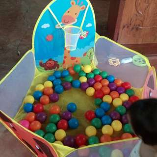 foldable ocean ball pit pool