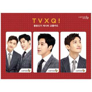 [PREORDER] TVXQ & SUPER JUNIOR OFFICIAL CASHBEE CARD