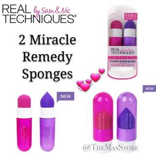 Real Techniques 2 Miracle Remedy Sponges