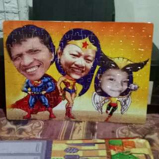 PERSONALIZED CARICATURE PUZZLE