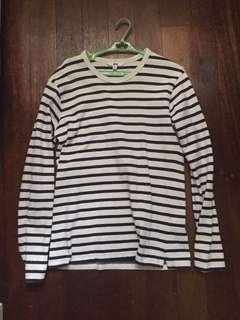 Uniqlo Long sleeve Shirt - Stripes