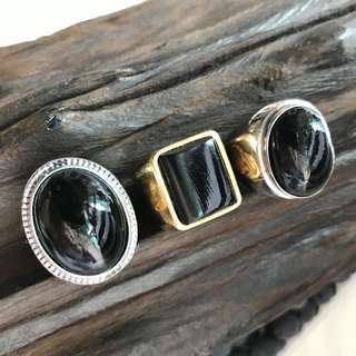 Akar Bahar / Black Coral  Ring