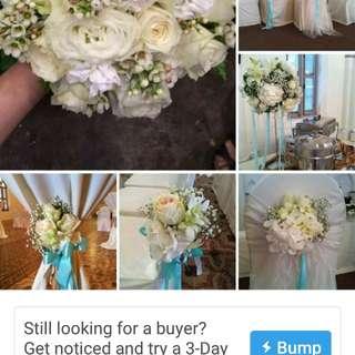 Bridal Bouquet & wedding decor
