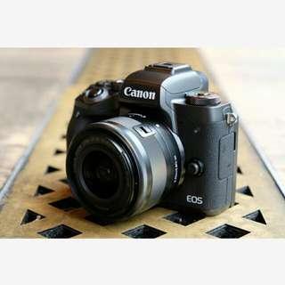 Canon EOS M5 Kit 15-45mm Kredit Cepat Tanpa CC
