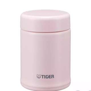 Tiger MCA-B025-PF Stainless Steel Vacuum Insulated Soup Cup, 250ML, Framboise Pink