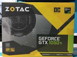 Zotac GTX 1050 Ti Dual Fan OC