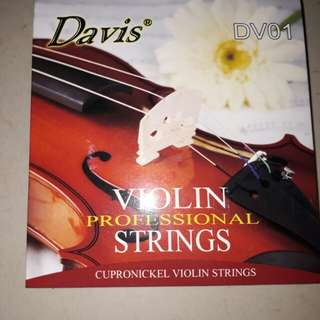 Davis Violin Strings