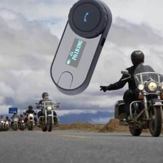 Bikers Intercom Soft Earphone Bluetooth Motorcycle