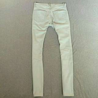 Uniqlo soft jeans skinny fit blue