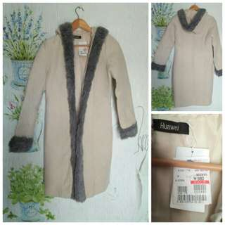 Jaket coat Suede import