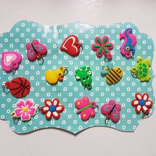 Sale! Assorted 40pcs rubber charms
