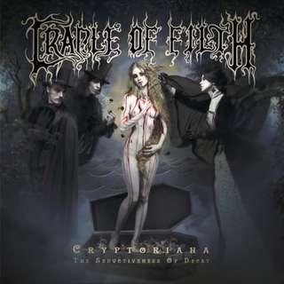 Cradle Of Filth (COF) – Cryptoriana: The Seductiveness Of Decay Digipak CD