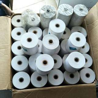 Paper Roll Refill for receipt  @ $ 30 ( 1 box)