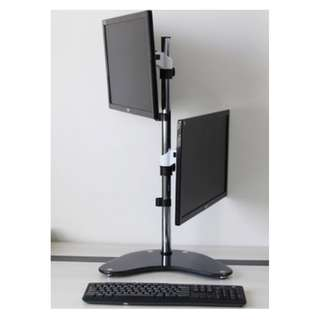(TV11-270T) Dual Arm Adjustable Monitor Stand for 27″ Monitors  Contact/Message 87209646