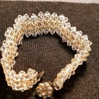 司華洛水晶手鏈