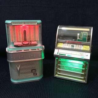Vintage Replica Mini Jukeboxes