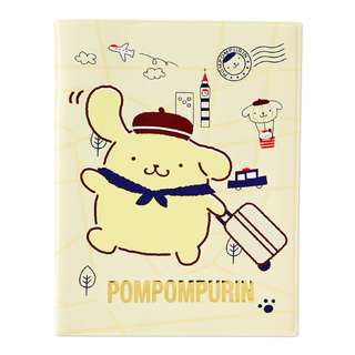 Japan Sanrio Pompompurin Passport Case