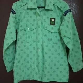 Uniform Pandu Puteri