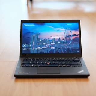 """💎💎 Immaculate 14"""" Lenovo T440S Ultrabook laptop i5 256GB SSD"""