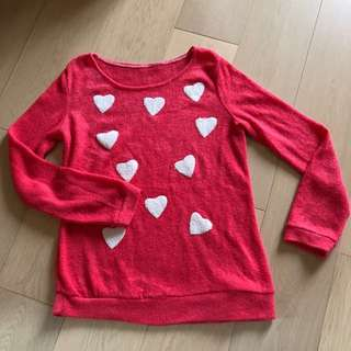 Sweater 心型毛線衫