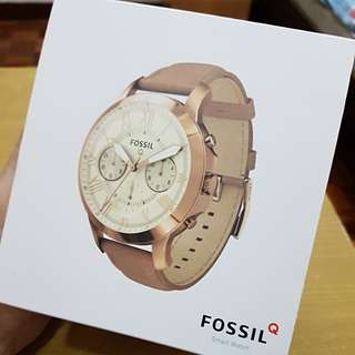 Fossil Q Grant Gen 1 Rose Gold