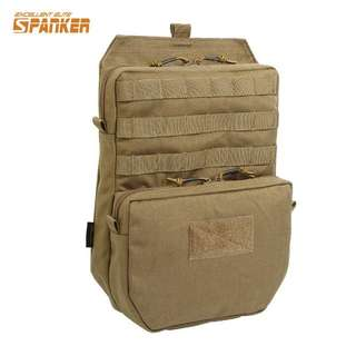 Tactical Molle hydration bag in Coyote Tan
