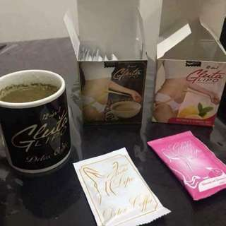 Gluta Lipo Detox Coffee and Slimming Juice