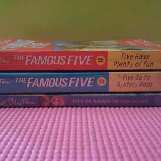 Famous Five bundle 4