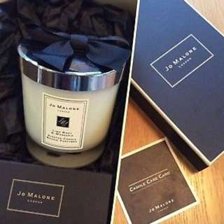 Jo Malone Candle, Lime Basil And Mandarin