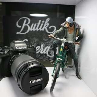 Canon Eos m5 cash & credit bunga 0%