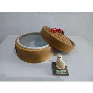 Hand crafted Ceramic steam basket
