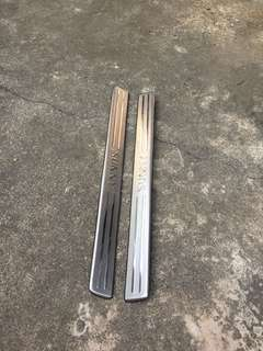 2005, 2006, 2007 Nissan Sunny front scuff plate 1 pair