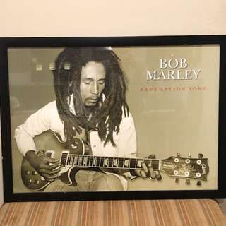 Limited Edition Bob Marley Poster in Frame