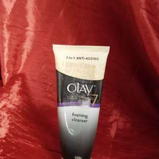 Olay foaming cleanser